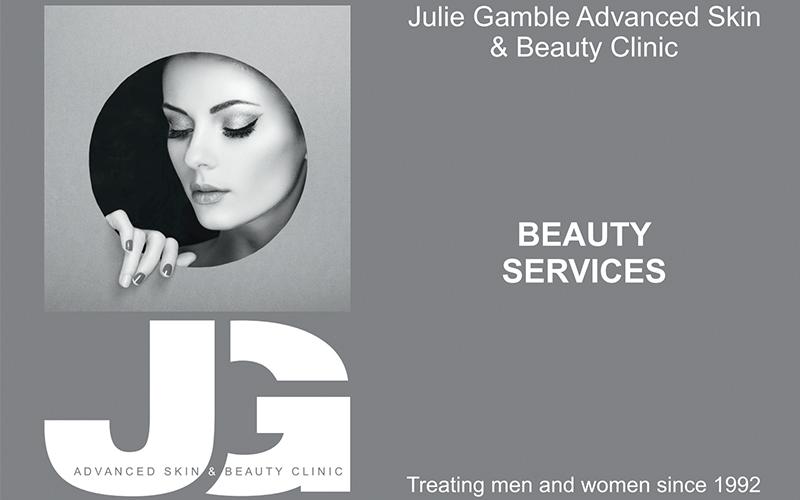 Julie Gamble | Beauty Brochure